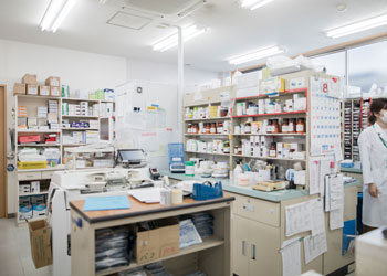 調剤室と人